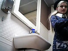 Sexy russian toilet spy camera