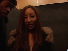 Erena Aihara gets picked up and fuked hard - More at j....net