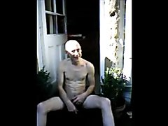 Pissing in the back yard - video 2