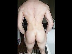 Magnificent muscular dude poop 2