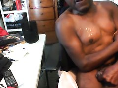 hadicadisabled black gay wanking in wheelchair and cum