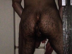 Big load in the shower