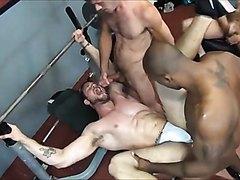 Orgy gay fuck bareback