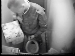 Hidden Cam...Gay student puts Female Porn in a bathroom at military school