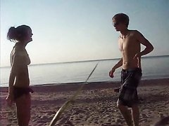 Beach Ballbusting