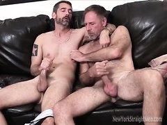 2 hot straight men