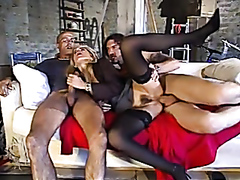 Hardcore anal action with hot sluts