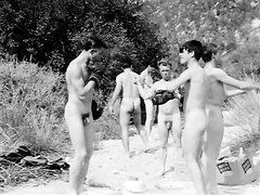 VINTAGE - Male Nudist Camp (1967)