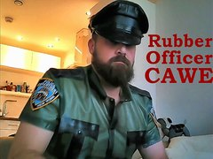 Rubber Officer CAWE.