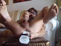 Smoker's foot fetish compilation