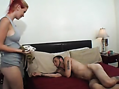Awesome girlfriend rides her horny guy