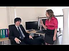 Office workers fuck like two jackrabbits
