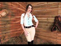 gorgeous British equestrian pov femdom joi