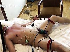 Forced electro orgasm