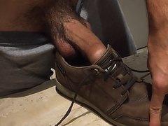 Fucking my shoes nice and deep