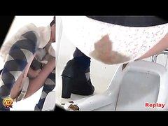 voyeur of japanese girl diarrhea pantypoop in toilet