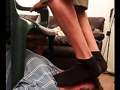 Footslave trample