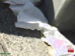 public panty poop - video 2
