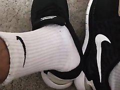 Nike Free 5.0 Shoe and Nike Socks Play