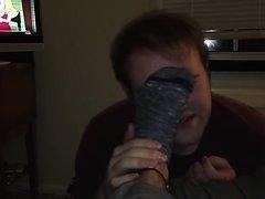 Boy worship socks