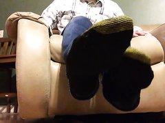 Men's Gold Toe Black Socks For Sale - Male Feet - Tell Me Your Fantasy, Foo