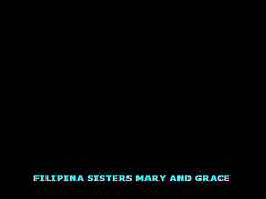 Filipina Sisters Mary and Grace Drink Pee on Cam