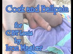 Cock and Ball pain for CBTLouis by Iron Master