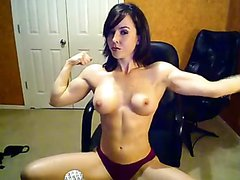 Very fit girl