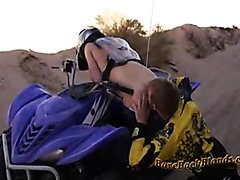 Fucking the quad biker bare