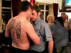 Brits Dancing & Stripping at local bar