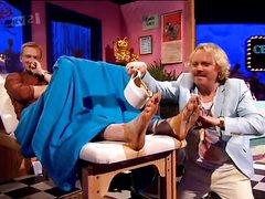 British Athlete Greg Rutherford's Feet