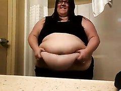 SSBBW Belly Play