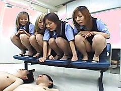 Japanese office spitting