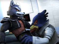 Falco Blowing Wolf