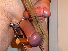 Cock & Stretched Balls Punished