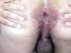 Short video of me gaping my man pussy