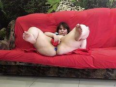 nice feet panty stuffing bbw