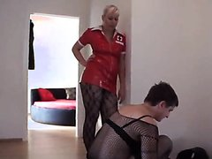My favorite Austrian Mistress with her Toilet slave