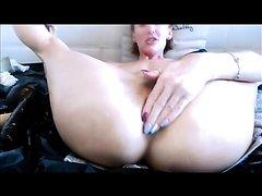 Sexy MILF Ravages her Ass part 3