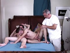 Young Stud Gets Drilled By Twink