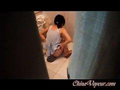 Chinese toilet voyeur - video 2