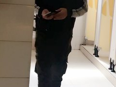 Chinese toilet spycam voyeur