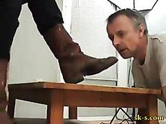 femdom dirty boot