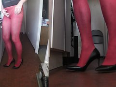 2018-04-21_1 Red Pantyhose part1