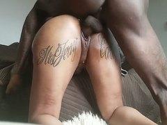 Black Tatted Cpl Fucks 2