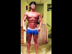 Blonde Muscle Boy Underwear