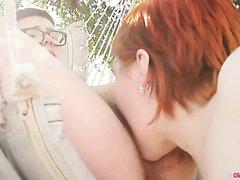 Bbw lesbians lick hairy buttholes