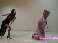 Beating for ugly slave