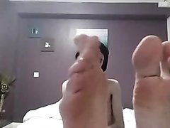 Young male boy foot fetish smelly bare feet toes