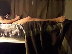 boyfriend enjoys solo pleasure over sex